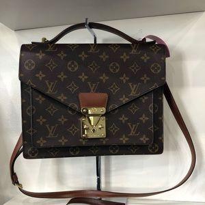 Louis Vuitton Monceau bag